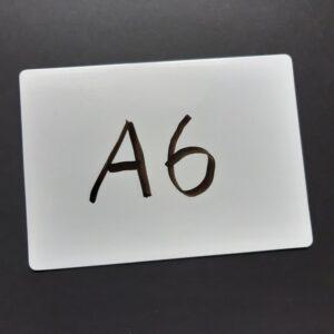 whiteboard mini A6 wisbordje