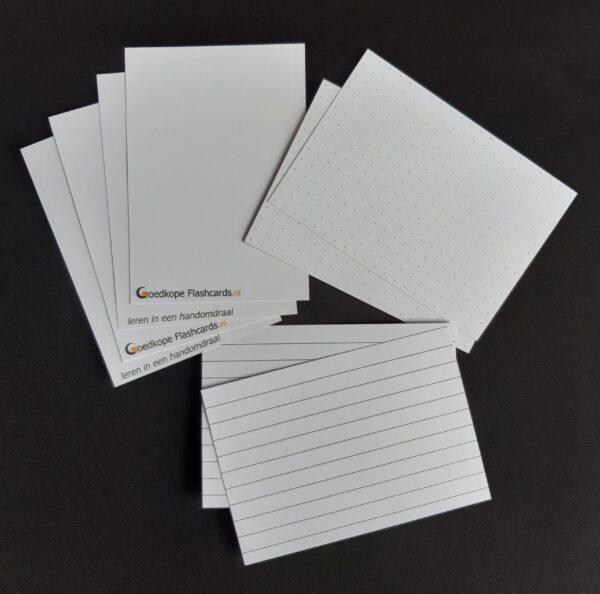 Goedkope Flashcards proefsetje om de kaarten te kunnen uitproberen